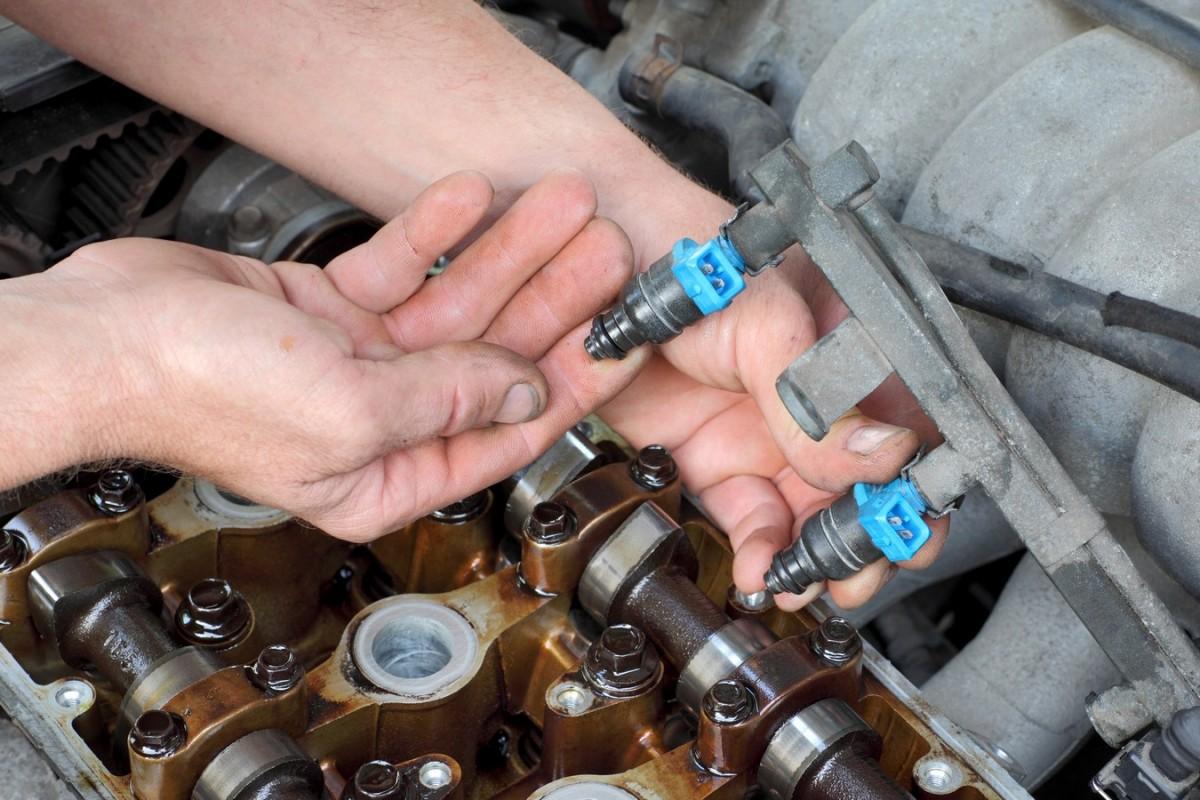 Fallas comunes en inyectores del auto.