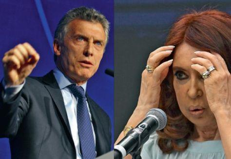 Macri Cristina Fernandez de Kirchner