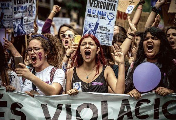 Triunfo del feminismo: la manada y un caso testigo en Europa