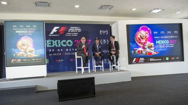 Conferencia de prensa FORMULA 1 GRAN PREMIO DE MÉXICO