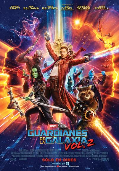 Poster Guardianes de la galaxia 3