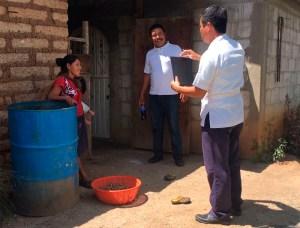 Secretaría de Salud atiende a damnificados por sismo en región Sierra Mariscal 2