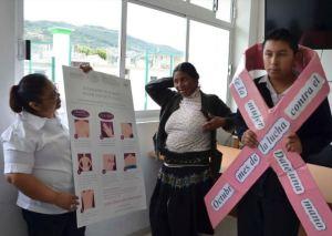 En Chiapas se promueve la autoexploración mamaria 5