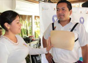 En Chiapas se promueve la autoexploración mamaria 7