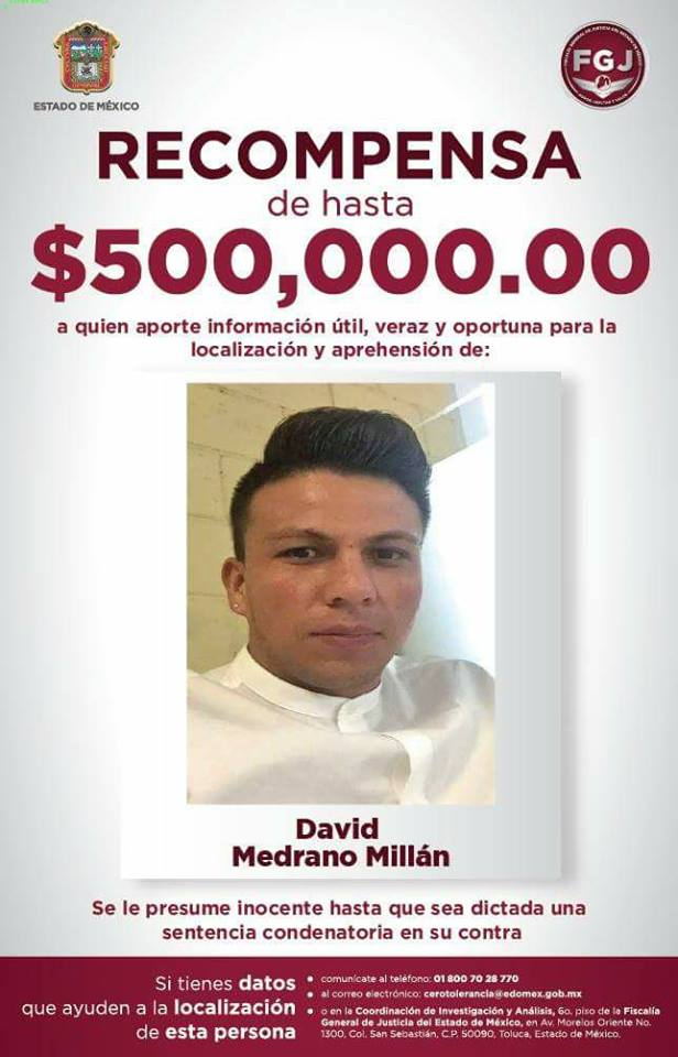 david medrano recompensa