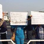manifestantes circuito exterior mexiquense