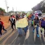 Migrantes avanzan por Chiapas 5