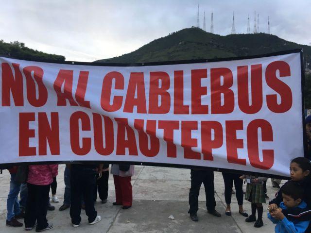 ACUSAN ASAMBLEA AMAÑADA POR EL GOBIERNO, PARA AVAL DE CABLEBÚS EN CUAUTEPEC 4