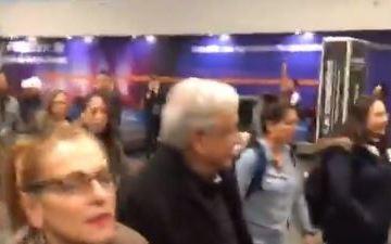 """""""Vete a la Tapo"""" le dice Rocío Nahle a hombre que reclamó insuficiencia de AICM a AMLO 1"""