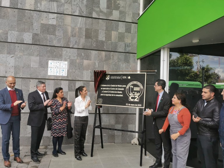 TELMEX y el Gobierno de la Ciudad de México inauguran el Centro de Comando y Control (C2) de la Central de Abastos 1