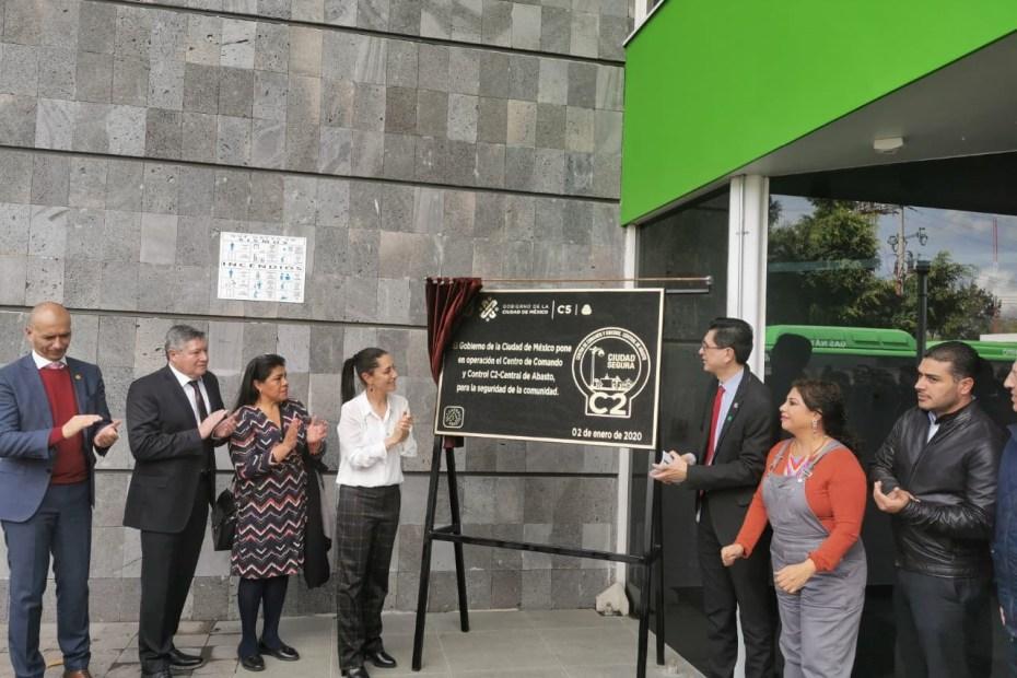 TELMEX y el Gobierno de la Ciudad de México inauguran el Centro de Comando y Control (C2) de la Central de Abastos 8