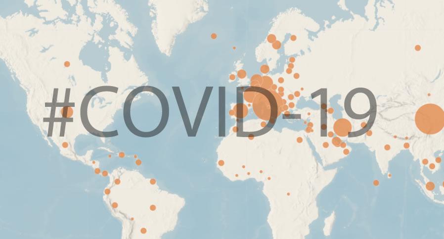 covid 19 en México mapa