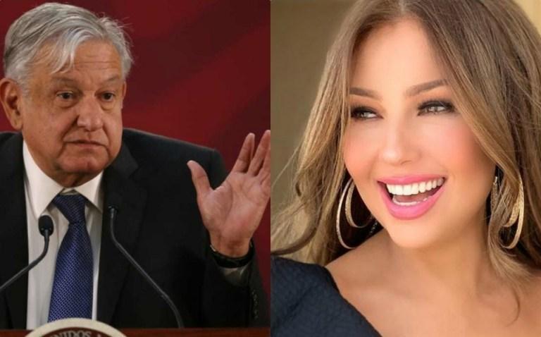 Thalía vs AMLO 1