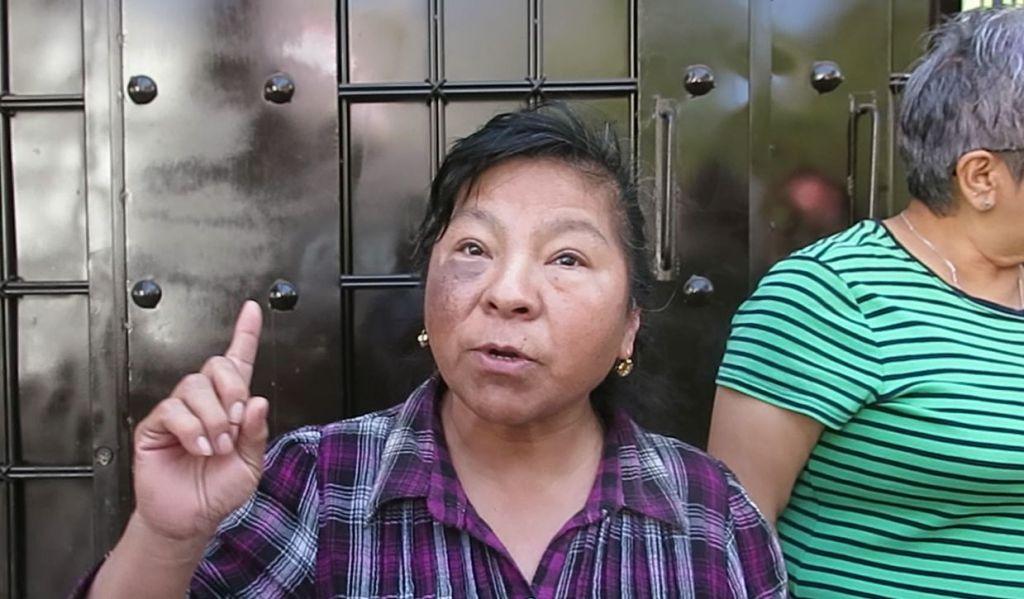La señora Imelda Moreno dijo que fueron engañados por gente de la Alcaldía de Gustavo A. Madero y el Gobierno de la Ciudad de México; utilizaron sus firmas como apoyo al Cablebús.