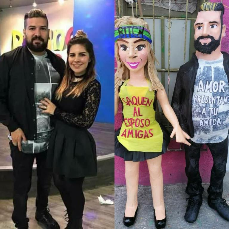 Creadores de la piñata de Karla Panini, reciben supuestas amenazas de Américo Garza 1