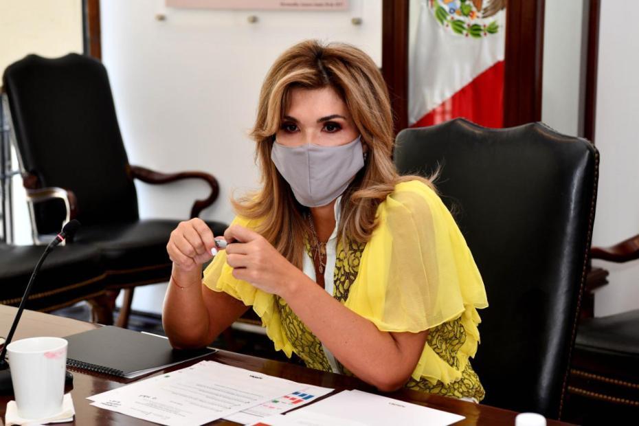 Evalúa Gobernadora avance en el diseño del  Plan de Reactivación Económica 20-21 1