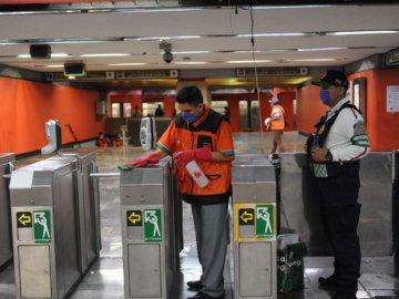 Reportan brote de COVID-19 en talleres del Metro Ciudad Azteca 9