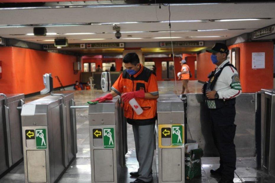 Reportan brote de COVID-19 en talleres del Metro Ciudad Azteca 1