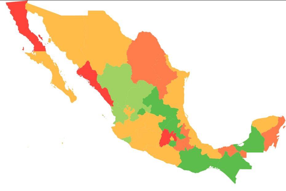 #COVID19 en México, casos positivos y defunciones por estado al 20 de abril 2020 1