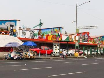 El mercado Martínez de la Torre de la colonia Guerrero, se encuentra en cuarentena. 10