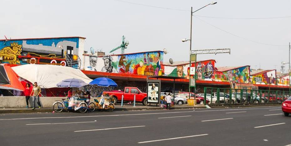 El mercado Martínez de la Torre de la colonia Guerrero, se encuentra en cuarentena. 1