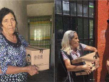 """Ante la pandemia por el COVID-19, hija de Joaquín """"el Chapo"""" Guzmán entrega """"chapodespensas"""" 6"""