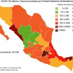 #COVID19 en México, casos activos, positivos, negativos, sospechosos, defunciones y tasa de incidencia por estado al 1 de mayo 2020 5