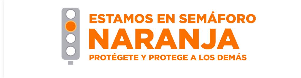 centro histórico, semáforo naranja