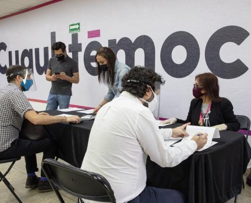Entrega Néstor Núñez 210 apoyos a MiPyMEs para solventar nómina