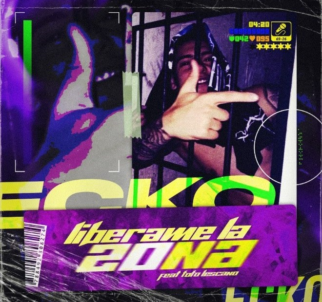 "ECKO lanza su ""Libérame la zona""  con Toto Lescano 1"