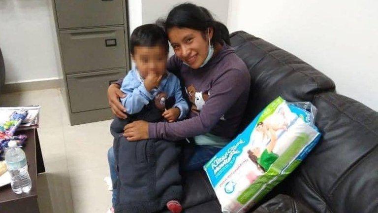Localizan a Dylan Esaú, niño desaparecido en un mercado de Chiapas 1