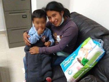 Localizan a Dylan Esaú, niño desaparecido en un mercado de Chiapas 2