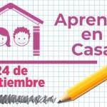 Aprende en Casa - 24 de septiembre 15