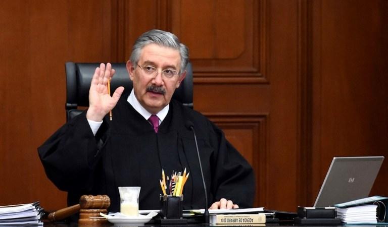 Ministro Luis María Aguilar propone declarar inconstitucional consulta para enjuiciar expresidentes