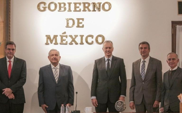 AMLO se reúne con James Quincey, CEO global de Coca-Cola a nivel mundial 1