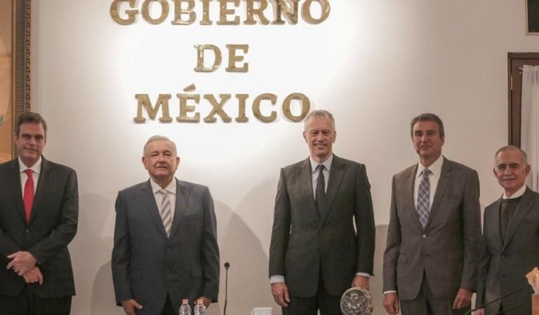 AMLO se reúne con James Quincey, CEO global de Coca-Cola a nivel mundial