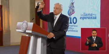 """AMLO lanzará 20 vivas y """"unos nuevos"""", en el Grito de Independencia, además pide no dejar de lado las medidas sanitarias por COVID-19 5"""