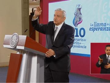 """AMLO lanzará 20 vivas y """"unos nuevos"""", en el Grito de Independencia, además pide no dejar de lado las medidas sanitarias por COVID-19 4"""