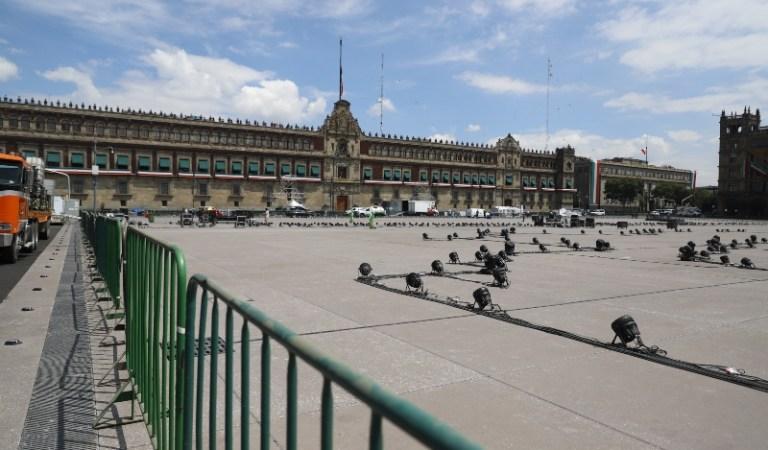 Toma tus precauciones, por fiestas patrias cierran accesos al Zócalo de la CDMX
