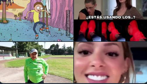"""""""¿Quieren ver mis tenis fosfo fosfo?"""", así ignora Mariana Rodríguez a su esposo el senador Samuel García (mejores memes)"""