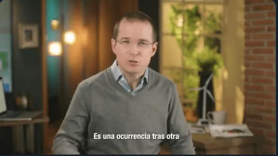 """«Los abrazos, la claudicación, las ocurrencias y la frasecitas del presidente no llevan a ninguna parte"""": Ricardo Anaya"""