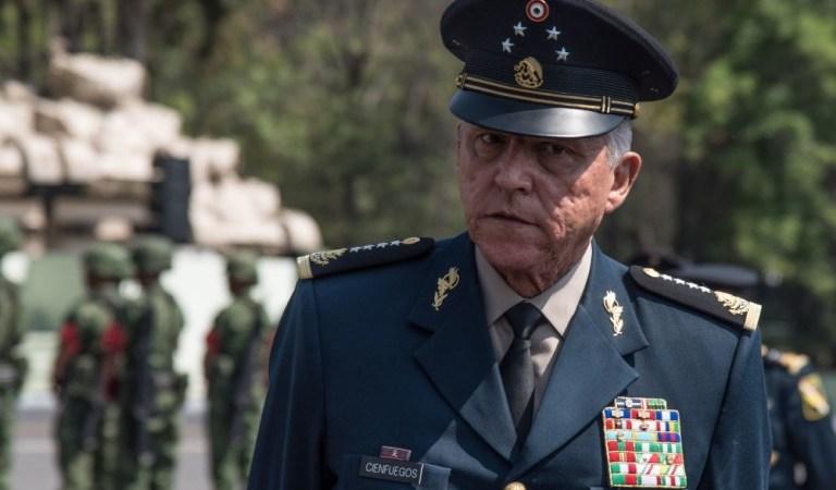 Fue detenido en EU el general Salvador Cienfuegos, ex secretario de Defensa Nacional