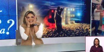 Critican a Canal Once por transmitir la propuesta de matrimonio a una de sus conductoras de noticias 10