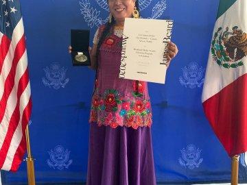 Lady Tacos de Canasta fue reconocida con el premio James Beard, por su participación en Las crónicas del Taco, serie de Netflix 1