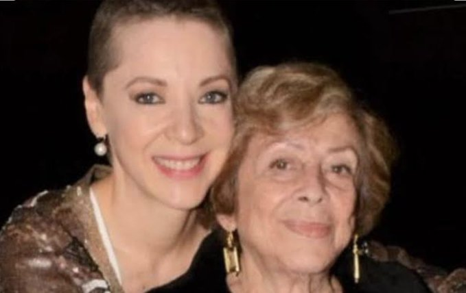 Fallece Doña Ofelia Fuentes, madre de Edith González