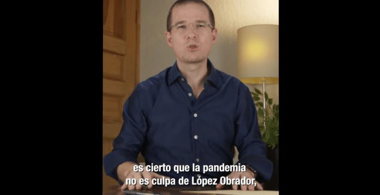 """""""La pandemia no es culpa de López Obrador, pero sí es su culpa el pésimo manejo que se le ha dado"""": Ricardo Anaya 1"""