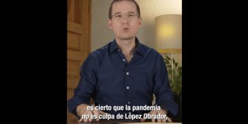 """""""La pandemia no es culpa de López Obrador, pero sí es su culpa el pésimo manejo que se le ha dado"""": Ricardo Anaya 14"""