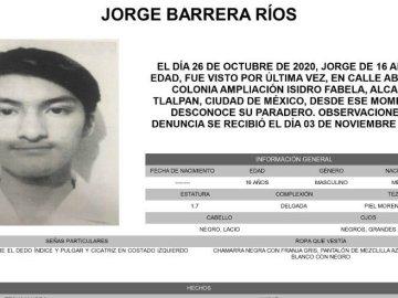 Difunden en redes sociales los últimos audios que envió Jorge Barrera Ríos, estudiante desaparecido tras ser víctima de una broma 1