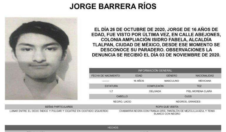 Difunden en redes sociales los últimos audios que envió Jorge Barrera Ríos, estudiante desaparecido tras ser víctima de una broma