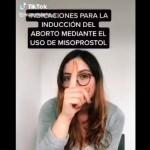 Estefanía Veloz, colaboradora de Canal Once promueve aborto casero en TikTok, (vídeo) 4
